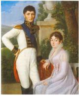 Jérome und Katharina von Westphalen Jérome und Katharina Bonaparte, König und Königin des Königreichs Westphalen (1807)
