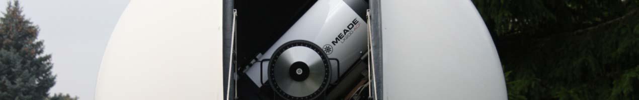 """Sternwarte mit 16"""" Cassegrain (Meade ACF) und 152mm TMB Apo-Refrator"""